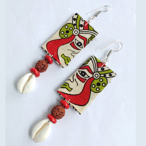 Kalamkari Designer Earrings