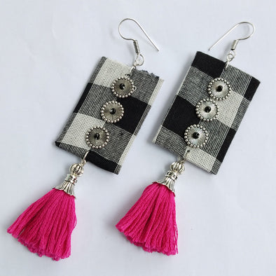 Cloth Designer Earrings