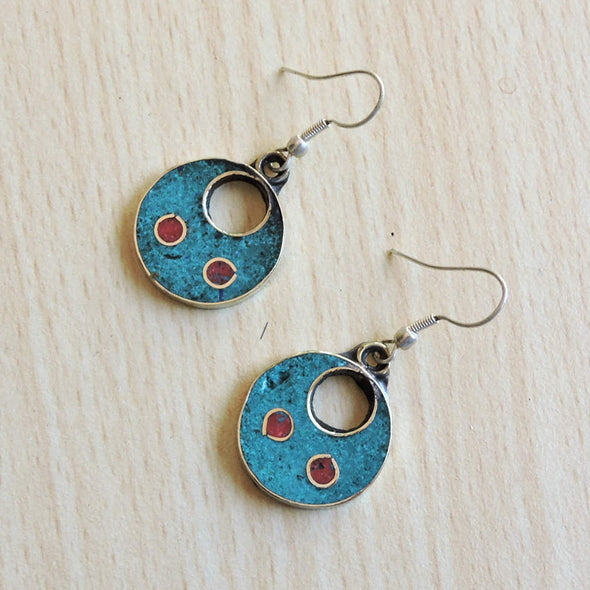 Tibetan Earrings 32