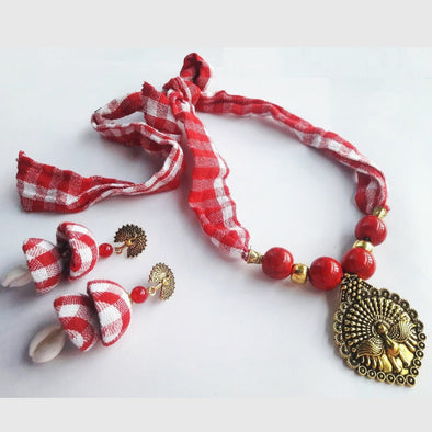 Gamchha Mayur Necklace