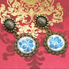 Designer Cabochon Earrings 34