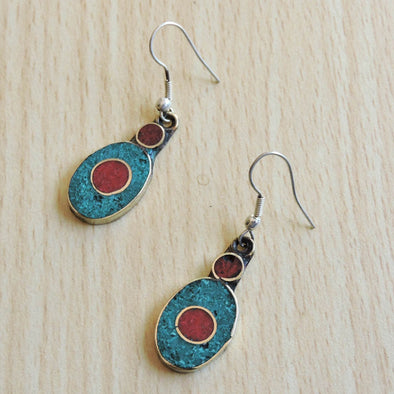 Tibetan Earrings 36