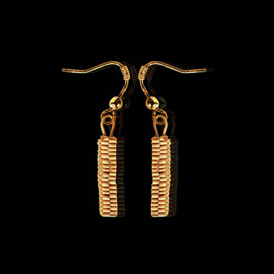 Bamboo Stick, Earrings