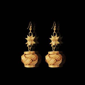 Star Drums Earrings