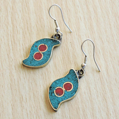 Tibetan Earrings 39