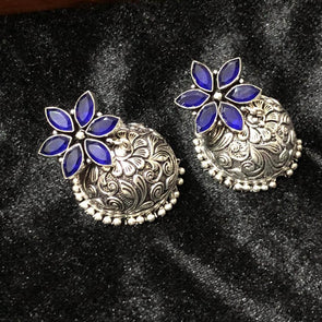 German Silver Jhumka