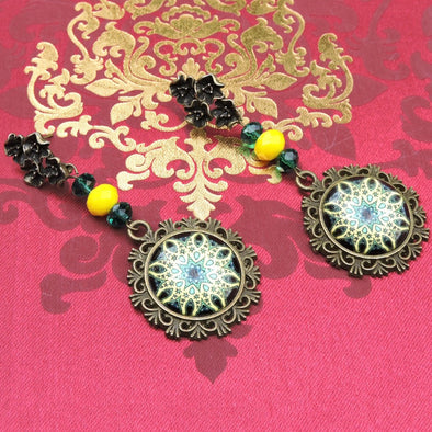 Designer Cabochon Earrings 32