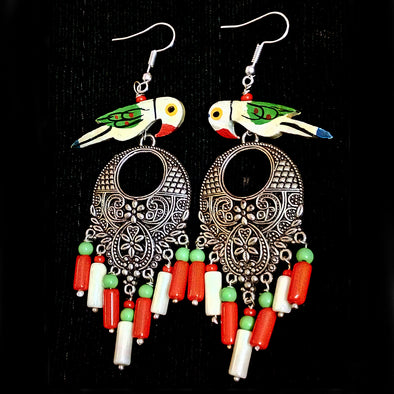 Trendy Bird Earrings