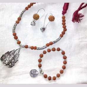 Rudraksha Statement Jewellery