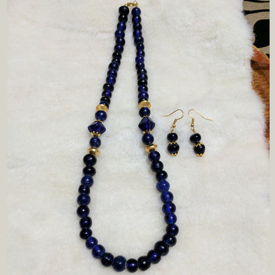 Ceramic Clay Beads Necklace Set