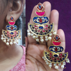 Multicolour Earring