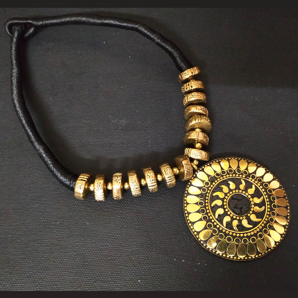 Black Tribal Neckpiece