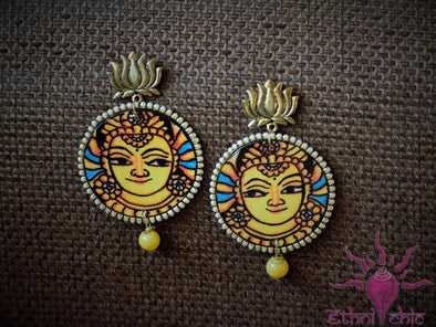 Handcrafted Mural Earrings