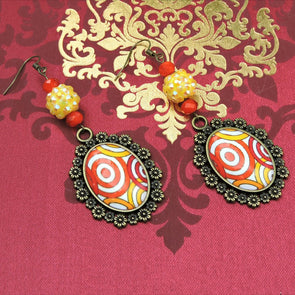 Designer Cabochon Earrings 33