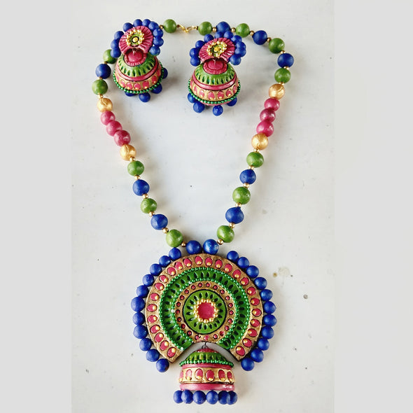 Terracotta Trendy Design Jewellery