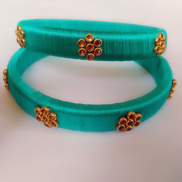 Silk Thread Bangles 4