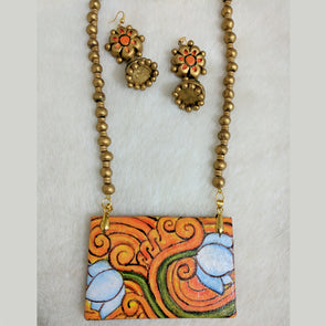 Terracotta Necklace Set 15