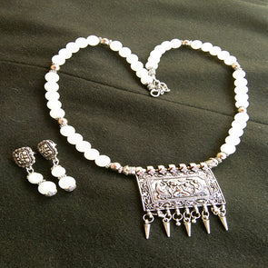 White Ganesha Set