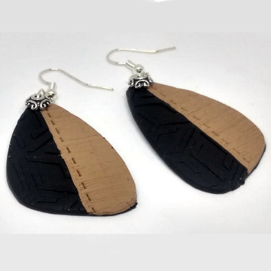 Black and Brown Daily Wear Earring