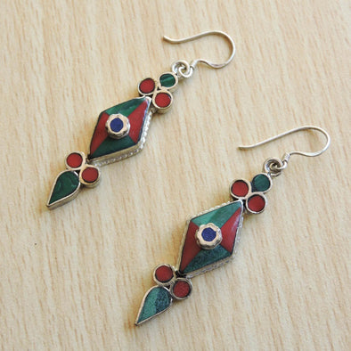 Tibetan Earrings 56