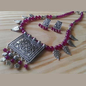 Magenta Magic Necklace Set