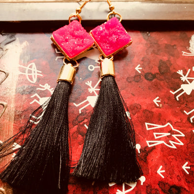 Funky Tassel Earrings