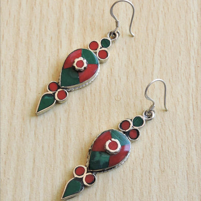 Tibetan Earrings 60