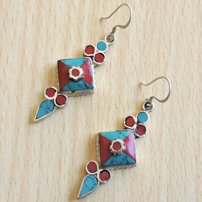 Tibetan Earrings 68