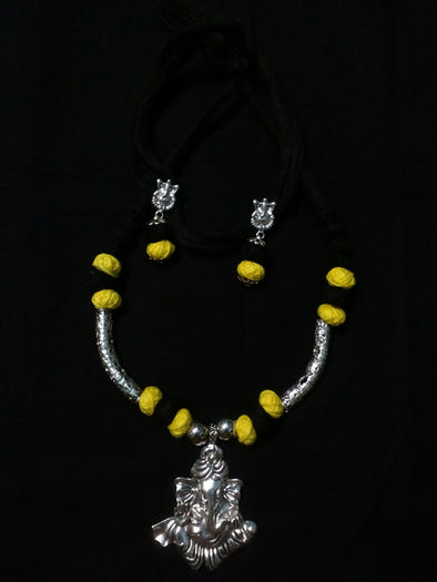 Ganapati Necklace Set