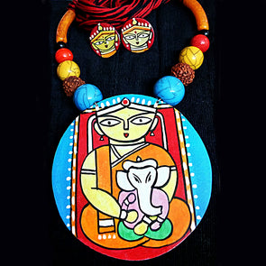 Ganesh Janani Necklace Set 2