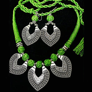 Leafy Tale Necklace Set