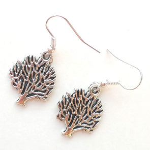 Tiny Tree Earrings