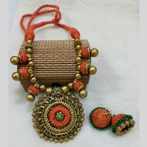 Terracotta Necklace Set 17