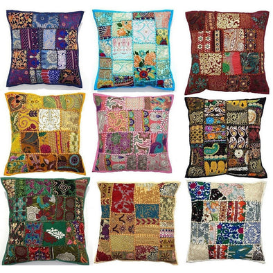 Handmade Cushion Cover Set of 9