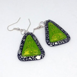 Green Daily Wear Earring