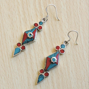 Tibetan Earrings 70