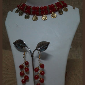 Red Golden Choker