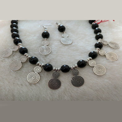 German Silver Necklace Set 4