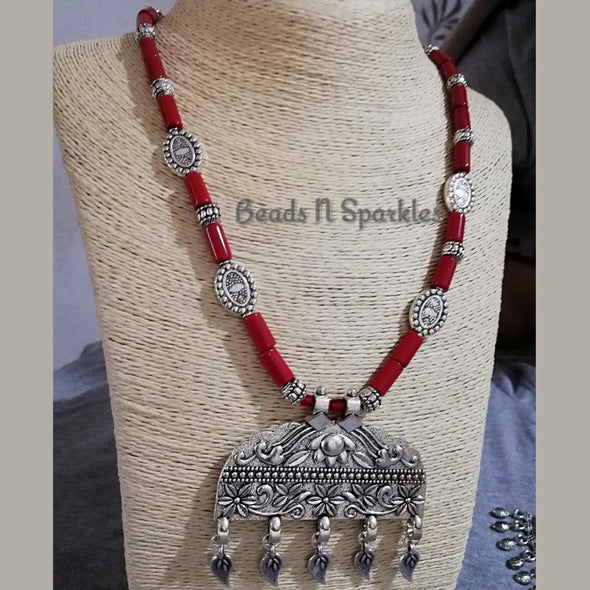 Stunning Coral Necklace Set