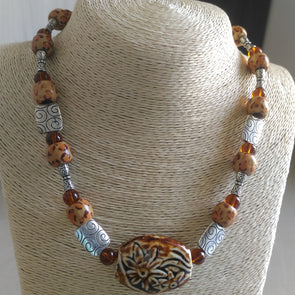 Stone Age Necklace Set