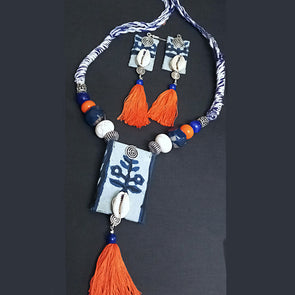 Indigo Necklace Set