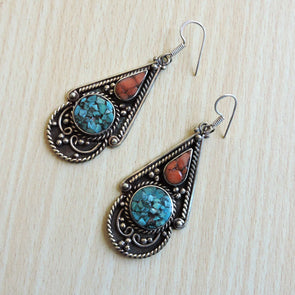 Tibetan Earrings 09