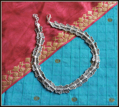 Fancy Anklet - Oxidised jewelry