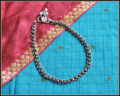 Designer Anklet 01 - Oxidised jewelry