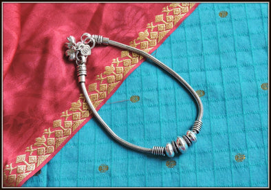 Designer Anklet 02 - Oxidised jewelry