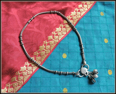 Designer Anklet 04 - Oxidised jewelry