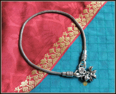 Designer Anklet 05 - Oxidised jewelry