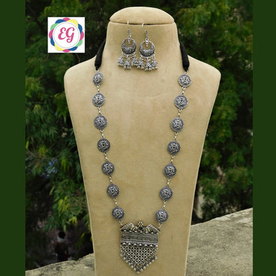 Cute Long Necklace Set