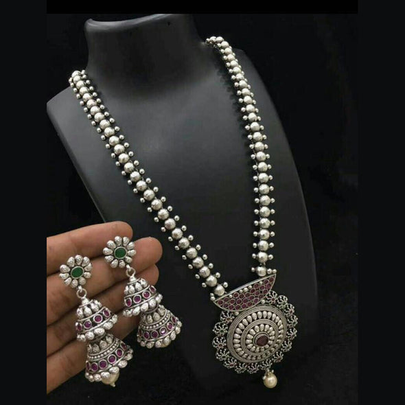 Traditional Long Haram with Jhumka