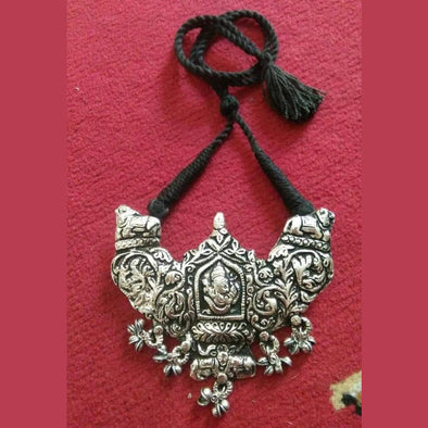 Ganesh Temple Pendant Necklace